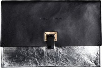 Proenza Schouler Small Lunch Bag Clutch Leather