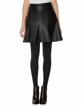 The Limited OBR Faux Leather Paneled Skirt