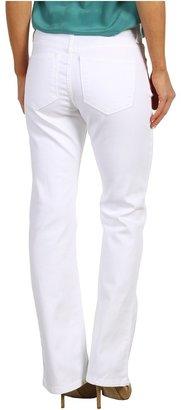 NYDJ Petite - Petite Barbara Bootcut in Optic White (Optic White) - Apparel