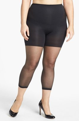 Spanx Power Capri Control Top Footless Pantyhose