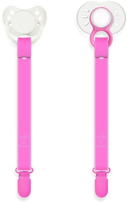 Bed Bath & Beyond Paciplay Teethable Pacifier Holder in Taffy Pink