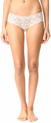 Eberjey India Lace Low Rise Boy Thong $37 thestylecure.com