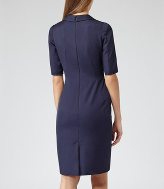 Reiss Angel FITTED PANEL DRESS