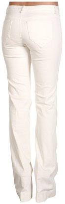 Robert Rodriguez Color Twill Flared Jean (White) - Apparel