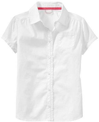 Gap Ruffle shirt