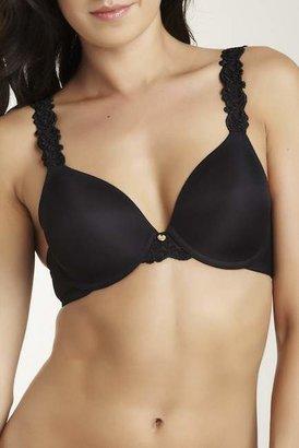 Natori Lace Trim Bra (Plus Size Available) $70 thestylecure.com