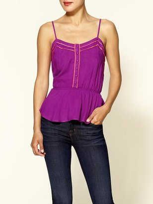 Tinley Road Piped Peplum top