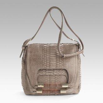 Chloé Nancy Python Shoulder Bag
