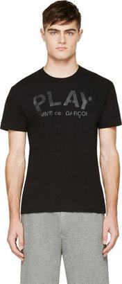 Comme des Garçons Play Black Logo T-shirt $150 thestylecure.com