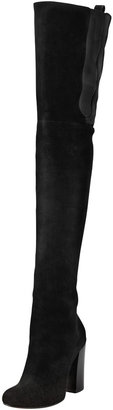 Givenchy Suede Over-the-Knee Boot