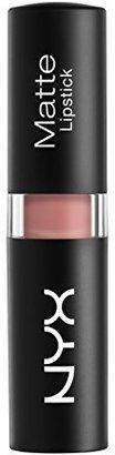 NYX Matte Lipstick, Euro Trash $9.25 thestylecure.com