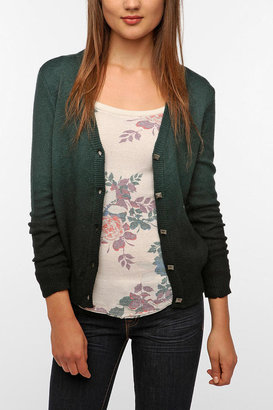 Urban Outfitters Coincidence & Chance Dip-Dye Cardigan