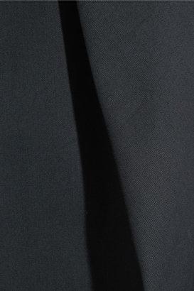 Carven Pleated cotton-gabardine skirt