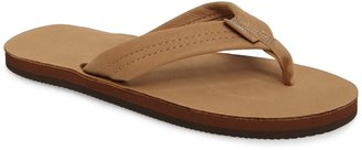 Rainbow R Leather Sandal