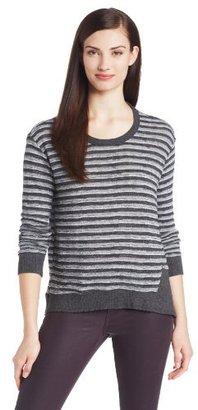 Wilt Women's Long Sleeve Stripe Shirt