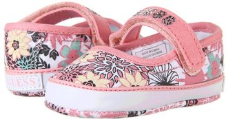 GUESS Kids' - Azalea MJ (Infant) (Pink Floral Canvas) - Footwear