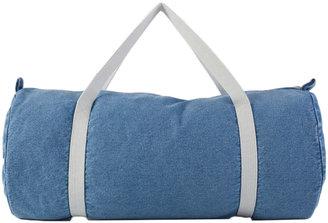 American Apparel Denim Duffle Bag