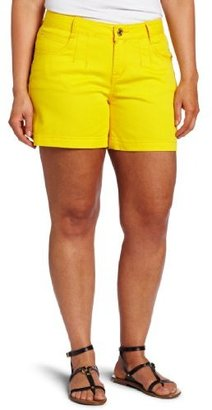 Southpole Juniors Plus-Size Yellow Co...