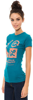 Lrg The Icons Tee in Teal
