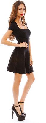 Torn By Ronny Kobo Vivienne Jeweled Lurex Dress