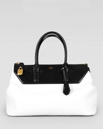 Tom Ford Two-Tone Medium Petra Bag