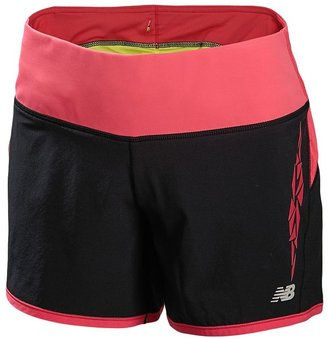New Balance Impact Lightning Dry Double-Layer Running Shorts - Women's