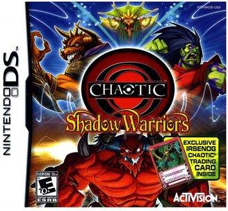 Nintendo ds TM chaotic shadow warriors