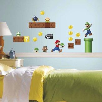 Roommates Nintendo Super Mario Peel & Stick Wall Stickers
