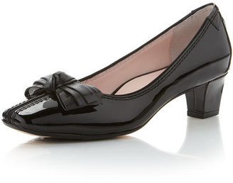 Taryn Rose Charlene Low-Heel Loafer, Black