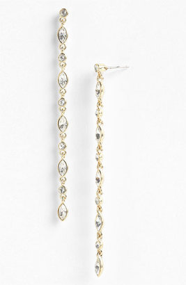 Givenchy Linear Crystal Earrings