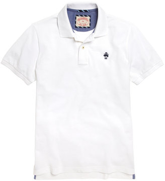Brooks Brothers Solid Polo Shirt