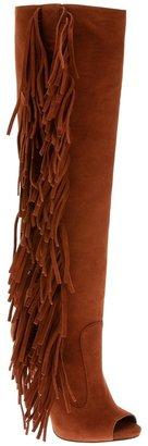 Giuseppe Zanotti Design 'Afro Wild' fringed peep toe boot
