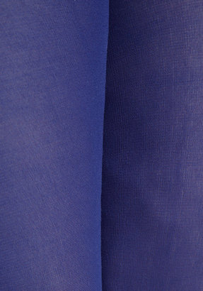 Look From London Seize the Day Tights in Cobalt