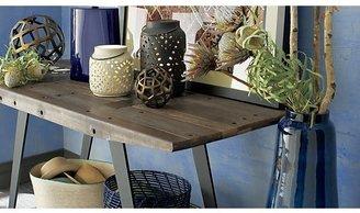 Crate & Barrel Boka Midnight Blue Table Lamp