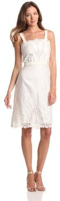 Rachel Roy Collection Women's Eyelet Embroidery Dress