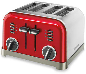 Cuisinart Classic 4-Slice Toaster - Metallic Red