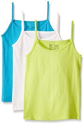 Fruit of the Loom Big Girls' Cami (Pack of 3)