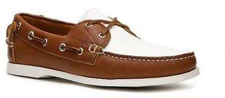 Ralph Lauren Telford II Leather Color Block Boat Shoe