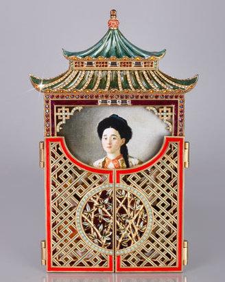 "Jay Strongwater Pagoda 5"" x 7"" Frame"