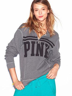 Victoria's Secret PINK Boyfriend Half Zip