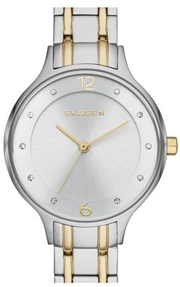 Skagen 'Anita' Crystal Index Bracelet Watch, 30mm $145 thestylecure.com