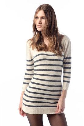 Kimchi & Blue Kimchi Blue Lurex Stripe Sweater Tunic