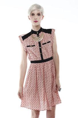 Sugarhill Boutique Anchor Print Dress