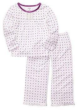 Carter's Purple Dot 2-pc. Pajamas - Girls 2t-5t