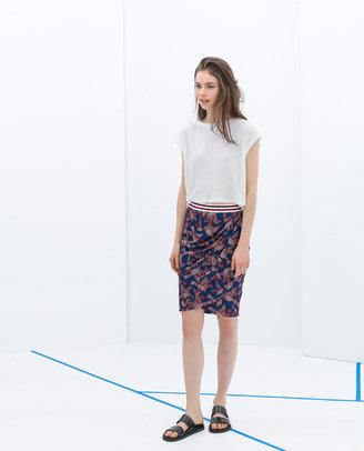Zara Printed Skirt