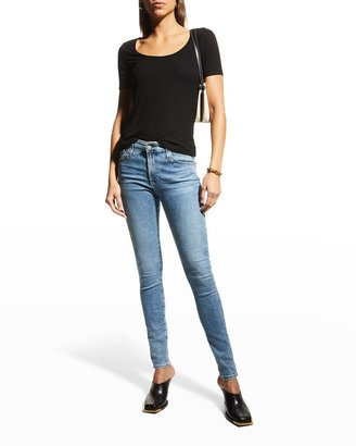 Farrah High-Rise Skinny Jeans