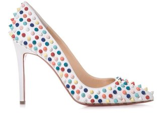 Christian Louboutin Pigalle 100mm spiked pumps