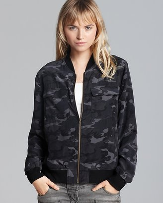 Equipment Jacket - Camo Printed Abbot Bomber