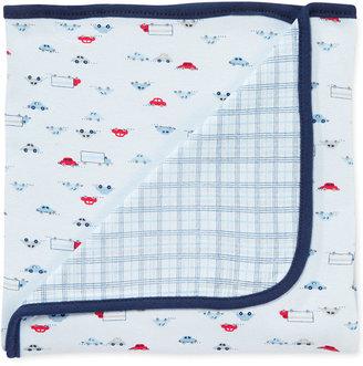First Impressions Baby Boy Car Blanket