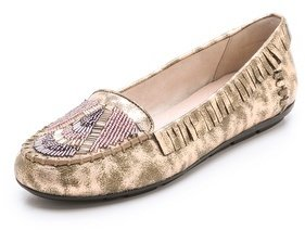 House Of Harlow Marion Beaded Flat Moccasins